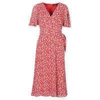 material Women Long Dresses Lauren Ralph Lauren ABEL Red