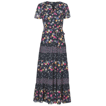 material Women Long Dresses Lauren Ralph Lauren TIGRAN Multicolour