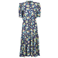 material Women Long Dresses Lauren Ralph Lauren BAYZEE Multicolour