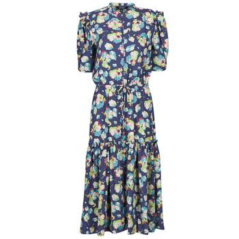 material Women Long Dresses Lauren Ralph Lauren BAYZEE Multicolour