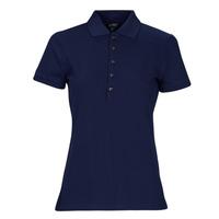 material Women short-sleeved polo shirts Lauren Ralph Lauren KIEWICK Blue
