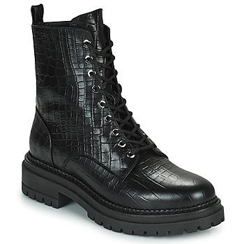 Shoes Women Mid boots Minelli LAMINA Black