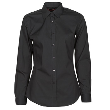 material Women Shirts BOTD OWOMAN Black
