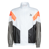 material Men Jackets Puma TRK TOP White / Grey