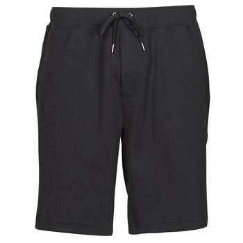 material Men Shorts / Bermudas Polo Ralph Lauren SHORT DE JOGGING EN DOUBLE KNIT TECH LOGO PONY PLAYER Black