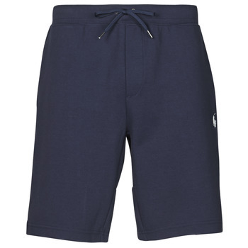 material Men Shorts / Bermudas Polo Ralph Lauren SHORT DE JOGGING EN DOUBLE KNIT TECH LOGO PONY PLAYER Marine