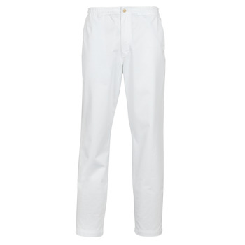 material Men 5-pocket trousers Polo Ralph Lauren PANTALON CHINO PREPSTER AJUSTABLE ELASTIQUE AVEC CORDON INTERIEU White