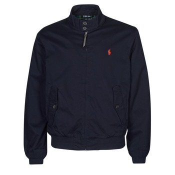 material Men Blouses Polo Ralph Lauren BLOUSON BARACUDA COTON DOUBLE LOGO PONY PLAYER Blue