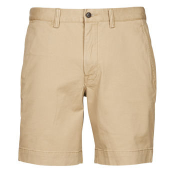 material Men Shorts / Bermudas Polo Ralph Lauren SHORT CHINO LOGO PONY PLAYER Beige