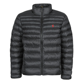 material Men Duffel coats Polo Ralph Lauren BLOUSON DOUDOUNE EARTH POLO EN NYLON RECYCLE ET PRIMALOFT LOGO P Black