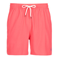 material Men Trunks / Swim shorts Polo Ralph Lauren MAILLOT SHORT DE BAIN EN NYLON RECYCLE, CORDON DE SERRAGE ET POC Red