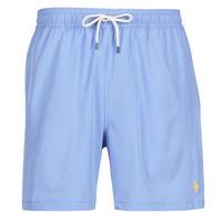 material Men Trunks / Swim shorts Polo Ralph Lauren MAILLOT SHORT DE BAIN EN NYLON RECYCLE, CORDON DE SERRAGE ET POC Blue