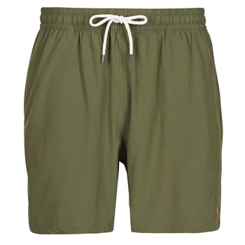 material Men Trunks / Swim shorts Polo Ralph Lauren MAILLOT SHORT DE BAIN EN NYLON RECYCLE, CORDON DE SERRAGE ET POC Kaki