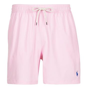 material Men Trunks / Swim shorts Polo Ralph Lauren MAILLOT SHORT DE BAIN EN NYLON RECYCLE, CORDON DE SERRAGE ET POC Pink