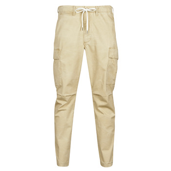 material Men Cargo trousers  Polo Ralph Lauren SHORT PREPSTER AJUSTABLE ELASTIQUE AVEC CORDON INTERIEUR LOGO PO Beige