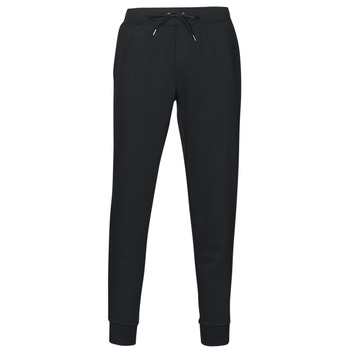material Men Tracksuit bottoms Polo Ralph Lauren PANTALON DE JOGGING EN DOUBLE KNIT TECH LOGO PONY PLAYER Black