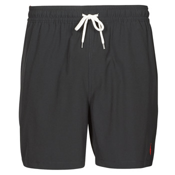 material Men Trunks / Swim shorts Polo Ralph Lauren MAILLOT SHORT DE BAIN EN NYLON RECYCLE, CORDON DE SERRAGE ET POC Black