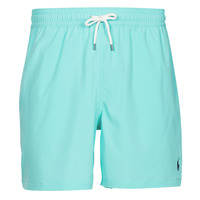 material Men Trunks / Swim shorts Polo Ralph Lauren MAILLOT SHORT DE BAIN EN NYLON RECYCLE, CORDON DE SERRAGE ET POC Blue