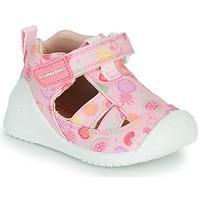 Shoes Girl Sandals Biomecanics 212212 Pink