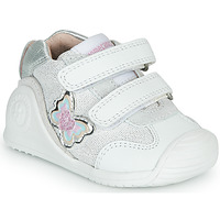 Shoes Girl Low top trainers Biomecanics 212122 White / Silver