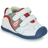 Shoes Boy Low top trainers Biomecanics 202148 White / Blue / Red