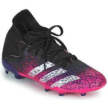 Shoes Children Football shoes adidas Performance PREDATOR FREAK .3 F Black / Pink