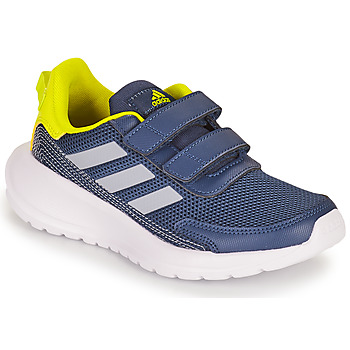 Shoes Boy Low top trainers adidas Performance TENSAUR RUN C Blue / Yellow