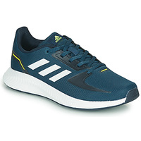 Shoes Children Low top trainers adidas Performance RUNFALCON 2.0 K Marine / White