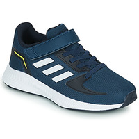 Shoes Children Low top trainers adidas Performance RUNFALCON 2.0 C Marine / White