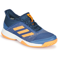Shoes Children Tennis shoes adidas Performance ADIZERO CLUB K Blue / Orange