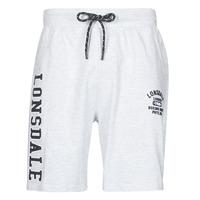 material Men Shorts / Bermudas Lonsdale KNUTTON Grey