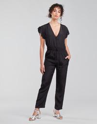 material Women Jumpsuits / Dungarees See U Soon 21191033 Black
