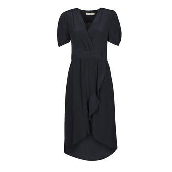 material Women Long Dresses See U Soon 21121204 Marine