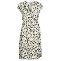 material Women Short Dresses See U Soon 21122122 Beige / Kaki