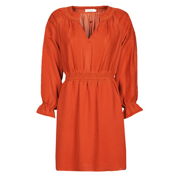 material Women Short Dresses See U Soon 21122109 Red