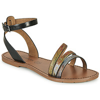 Shoes Women Sandals Chattawak PAGO Black / Multicoloured