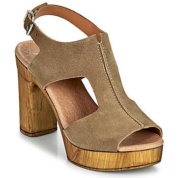 Shoes Women Sandals Myma POULISSA Taupe