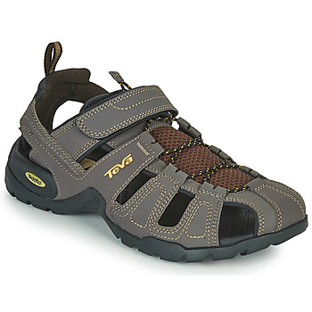 Shoes Men Sports sandals Teva FOREBAY Brown