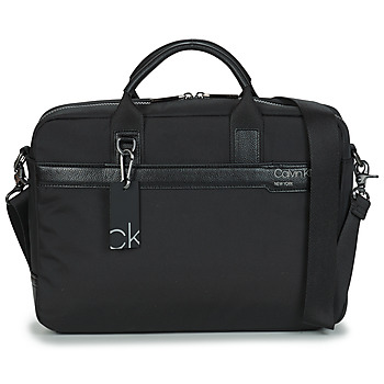 Bags Men Briefcases Calvin Klein Jeans LAPTOP BAG Black