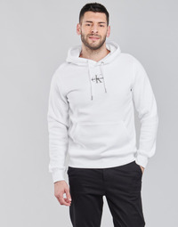 material Men sweaters Calvin Klein Jeans NEW ICONIC ESSENTIAL HOODIE White