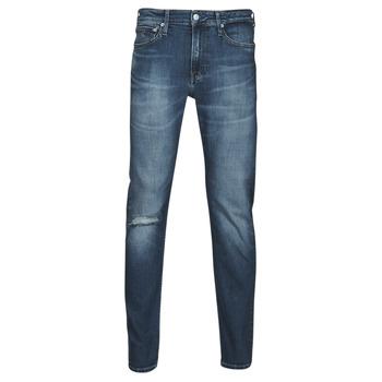 material Men straight jeans Calvin Klein Jeans SLIM TAPER Blue / Medium
