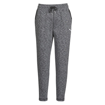 material Women Tracksuit bottoms Puma Evostripe Pants Grey / Black