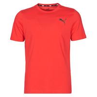 material Men short-sleeved t-shirts Puma ESS TEE Red