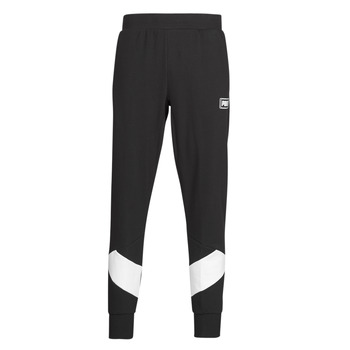 material Men Tracksuit bottoms Puma REBEL PANT Black