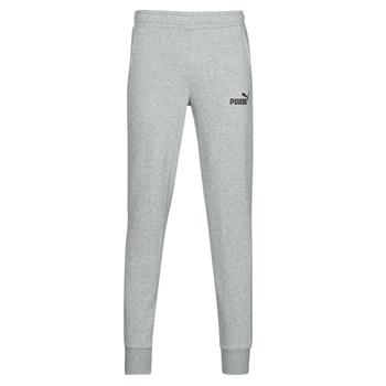 material Men Tracksuit bottoms Puma ESS LOGO SLIM PANT LOGO FL CL Grey