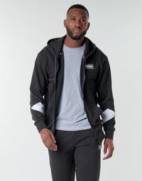material Men sweaters Puma REBEL FZ HOOD Black