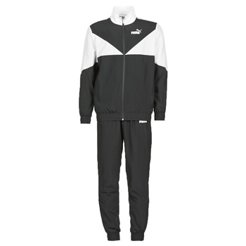 material Men Tracksuits Puma Woven Suit CL Black / White