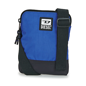 Bags Men Pouches / Clutches Diesel ZATINY Blue / Black