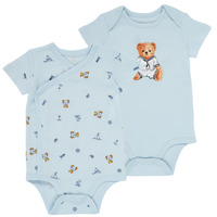 material Boy Sleepsuits Polo Ralph Lauren SIMON Blue / Clear