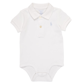 material Boy Sleepsuits Polo Ralph Lauren NOUVEL White